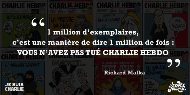 Exemplaires Charlie Hebdo