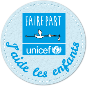 badge faire-part unicef