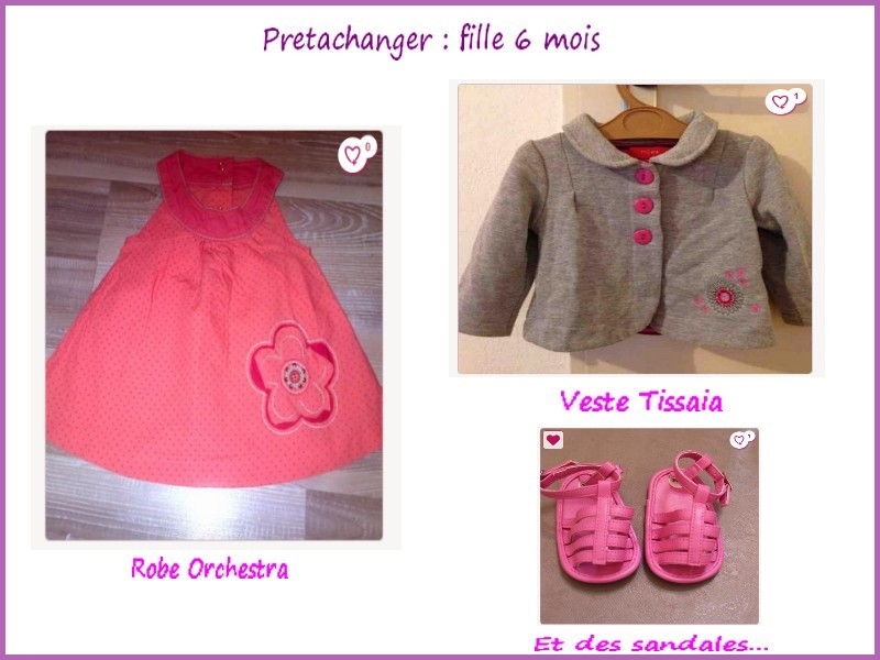 Sélection Pretachanger Fille
