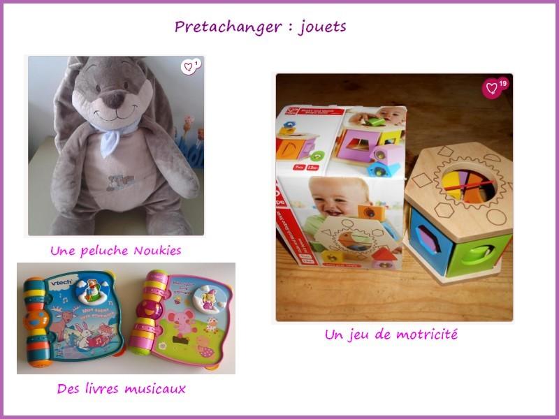 Sélection jouets pretachanger