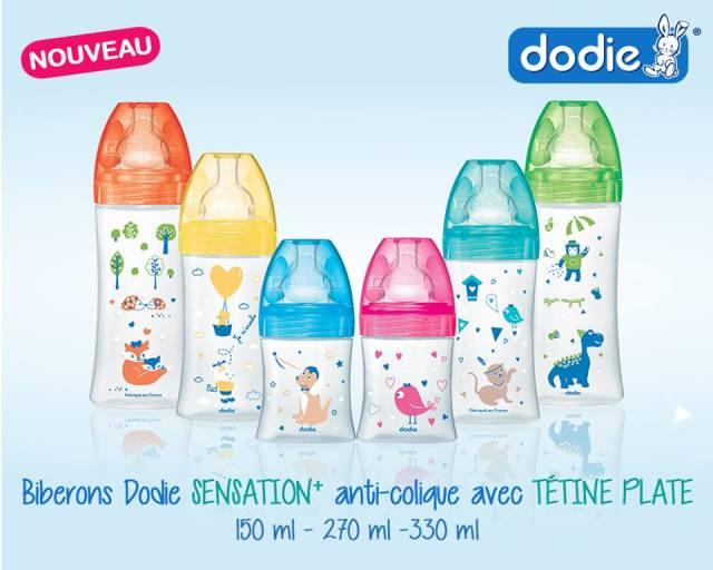 Biberons sensation + Dodie