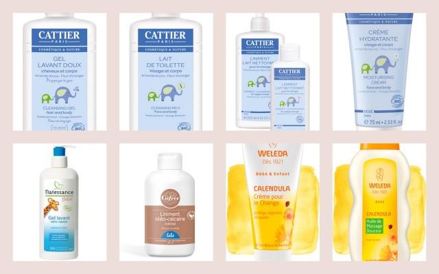 produits soins bébé