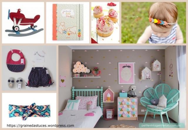 DIY bricolages idées cadeau naissance bébé