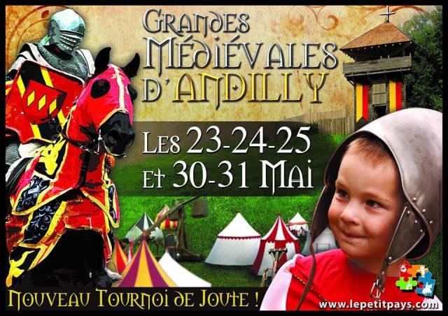 Sortie enfant annecy médiévales d'andilly