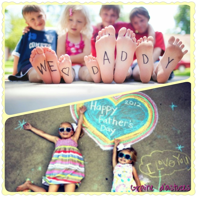 Photographies pour fête des mères ou des pères