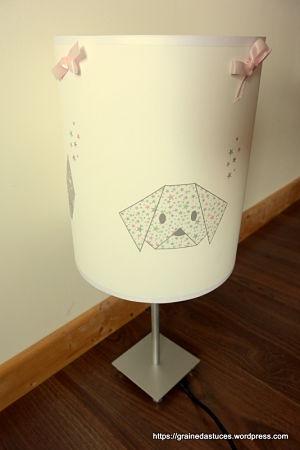 lampe origami lilipouce