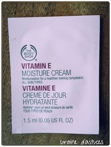 crème de jour vitamine E the body shop