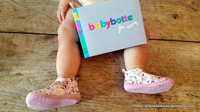 chaussures babybotte zoe papillon