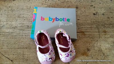 chaussures ZOE babybotte