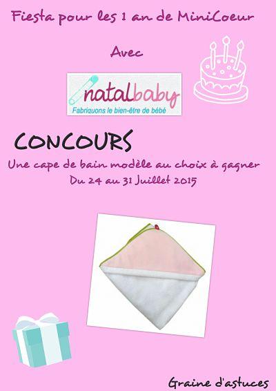 concours natalbaby materiel bebe et enfant