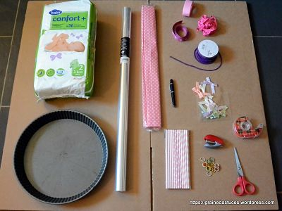 DIY gateau de couches