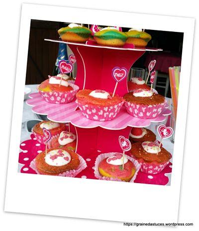cupcake anniversaire fille