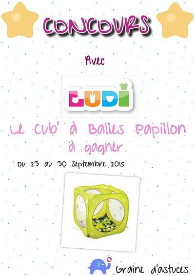 concours un cub à balles papillon LUDI à gagner