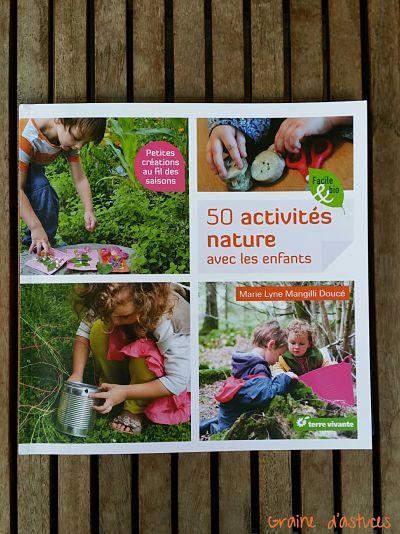 livre terre vivante 50activités nature avec les enfants