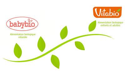 logo babybio et vitabio