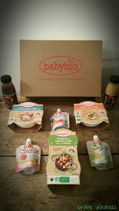 test et avis produits babybio et vitabio