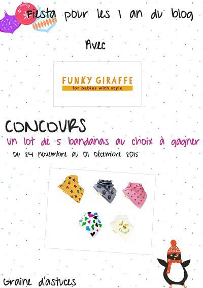 concours funky giraffe