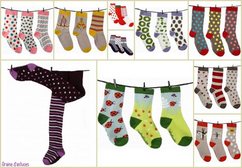 DesPasRayes chaussettes dépareillées