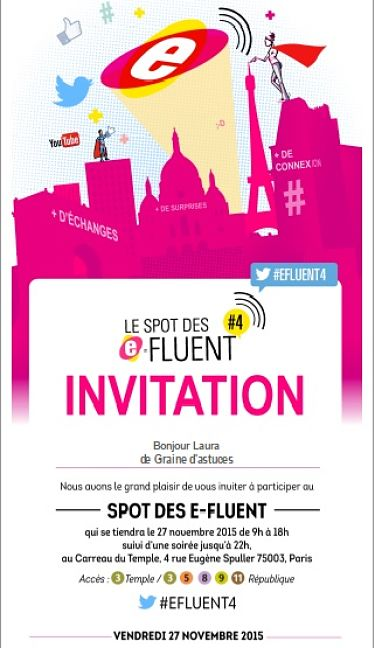 invitation efluent 4