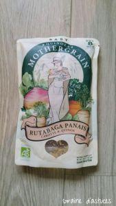 quinola baby rutabaga panais carottes quinoa