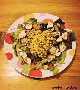 salade verte composée recette