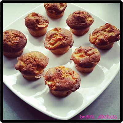muffins à la pomme bio