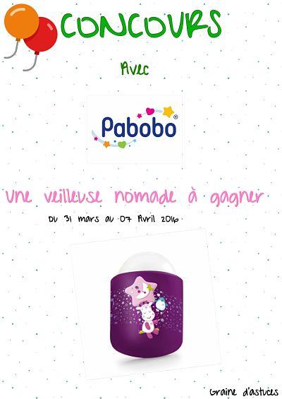 concours pabobo veilleuse nomade