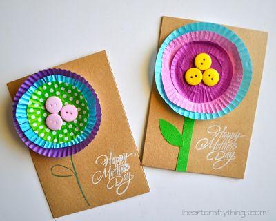 carte DIY fête des mères ou grand-mères