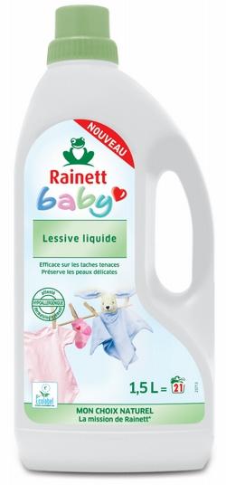 lessive liquide rainett baby