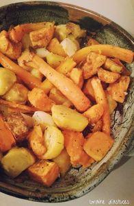 recette blog frites légumes au four