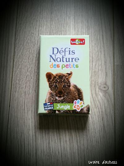 défi nature des petits version jungle