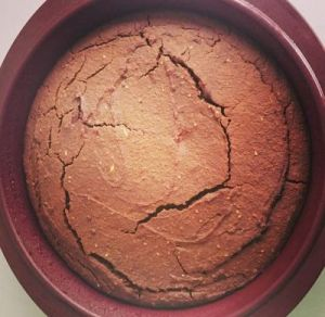 gâteau végétal choco-coco lait d'avoine