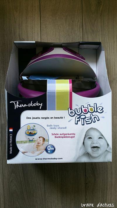 range jouet de bain Bubble fish Thermobaby