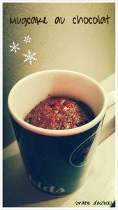 recette mugcake chocolat bio