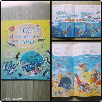 1001 choses à trouver sous la mer usborne