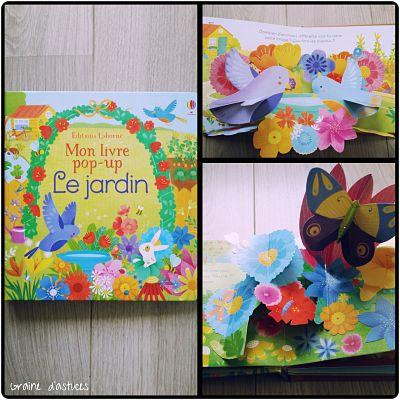 Mon livre pop up le jardin éditions usborne avis