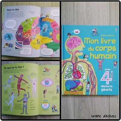 Mon livre du corps humain usborne