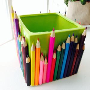 pot crayon maitresse diy