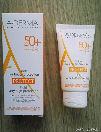 Fluide très haute protection 50+ aderma