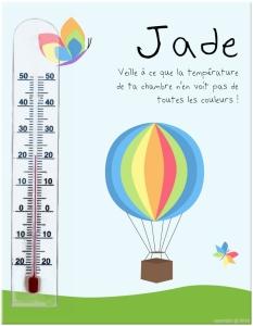 cadre thermomètre baby'sphere test et avis