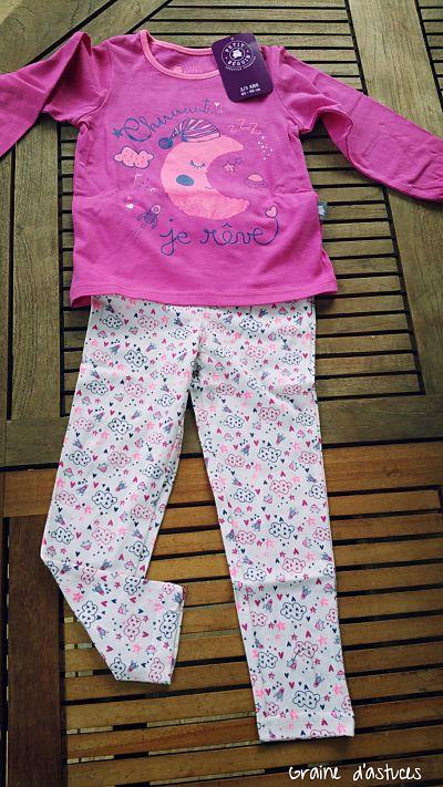 Pyjama petite lune petit beguin